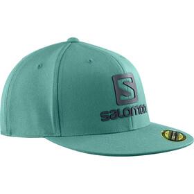 Salomon Logo Cap Flexfit Men pacific